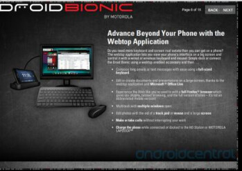 Motorola DROID BIONIC training documents leak, reveals the eLearning course