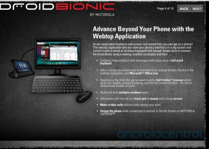 Motorola DROID BIONIC training documents leak, reveals the eLearning course