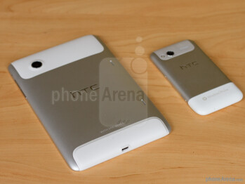 Next to HTC Flyer (left)