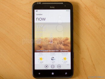 The aptly named HTC Titan will treat you to one of the largest screens on a phone - 4.7