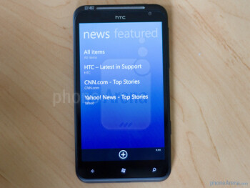 HTC Titan Hands-on