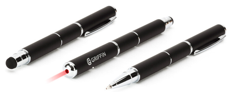 Griffin's 'Digital Swiss Army Knife' combines a stylus, pen, and laser pointer for $50