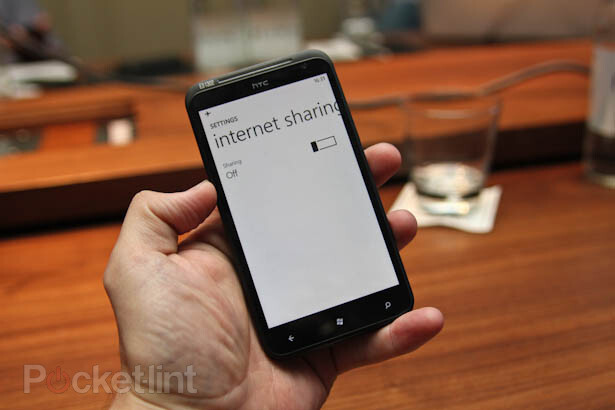 WiFi hotspot to be available in Windows Phone Mango, called Internet Sharing