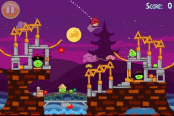 Angry Birds Seasons Moon Festival Episode packs yet another 30 fun-filled levels