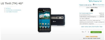 LG Thrill 4G is finally official-official with AT&T - available today for $100 on-contract