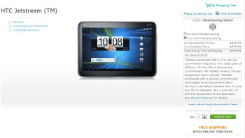 HTC Jetstream makes its landing with AT&T - 4G LTE Honeycomb love for $700 on-contract