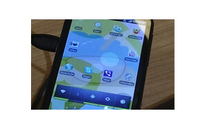Images of the HTC Amaze 4G leak