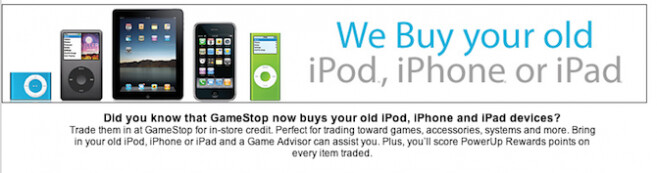 GameStop has started accepting trade-ins of iOS devices for store credit - Apple iOS devices coming to GameStop?
