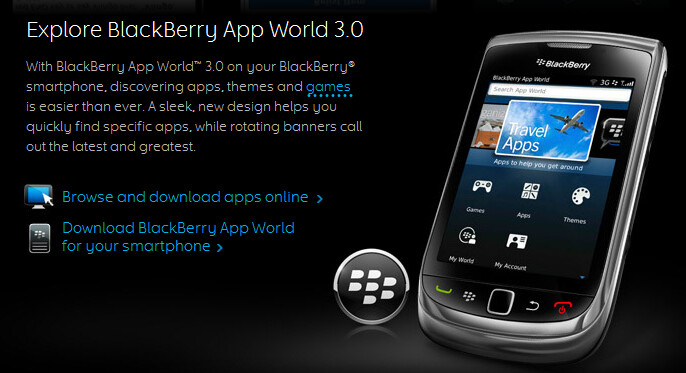 BlackBerry AppWorld 3.0 brings a sleek UI and faster download speeds to BlackBerry users - RIM pushing BlackBerry AppWorld 3.0 to BlackBerry devices