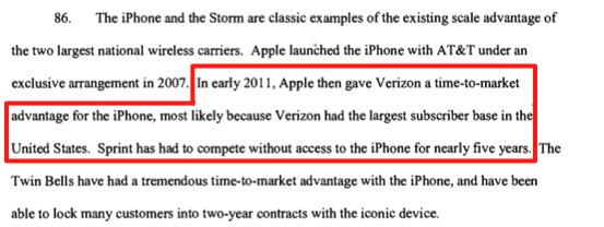 Sprint lawsuit mildly hints the carrier will indeed get the iPhone