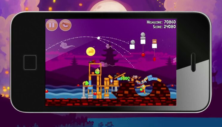 Angry Birds Moon Festival trailer leaks the iPhone 4S?