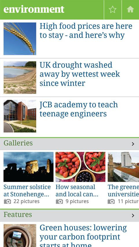 The Guardian releases officially awesome news app for Android