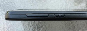 The buttons on the LG Optimus Black