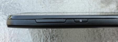 The buttons on the LG Optimus Black - Sprint's unannounced LG Marquee is a LG Optimus Black doppleganger