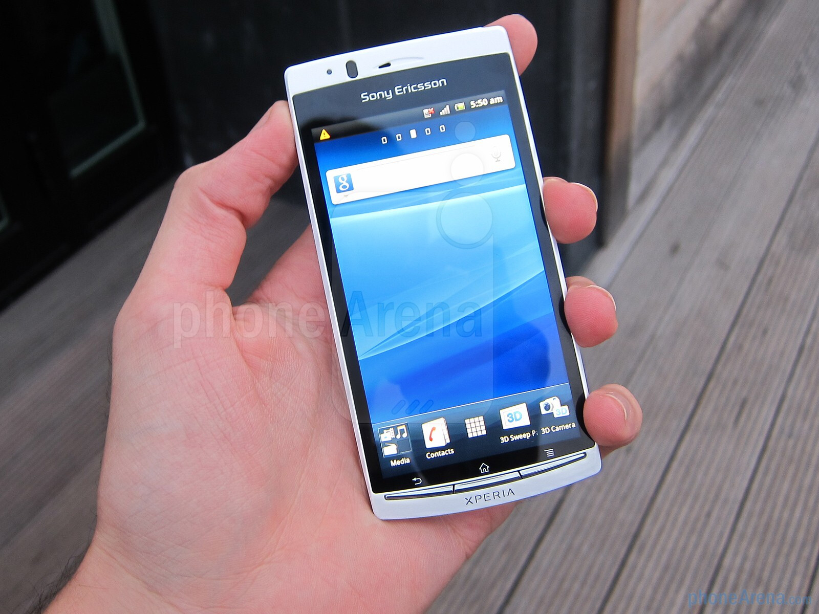 Sony Ericsson Xperia Arc S Hands On Phonearena Reviews