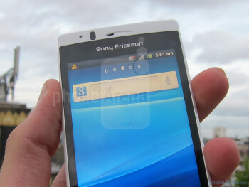 The Sony Ericsson Xperia arc S offers smooth performance and fantastic styling