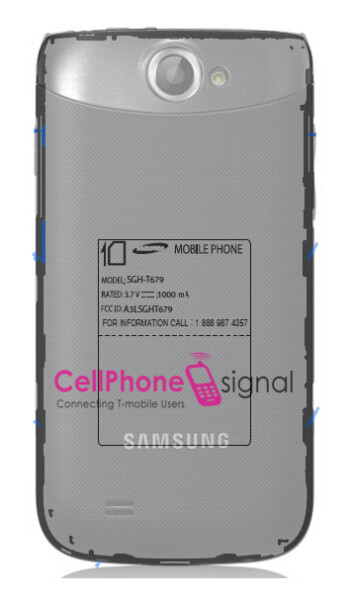 The Samsung T679 has visited the FCC
