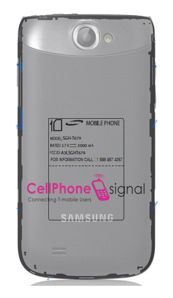 The Samsung T679 has visited the FCC - FCC greets T-Mobile bound Samsung T679, possibly the Samsung Galaxy W