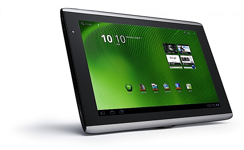 Acer Iconia Tab A501 landing on AT&T Sept 18th: $330 on contract, HSPA+ on board