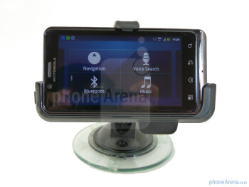 Motorola DROID BIONIC Vehicle Navigation Dock Hands-on