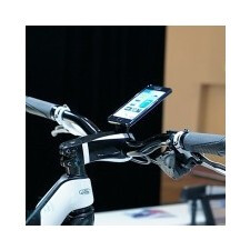 The concept Ford E-Bike uses a Samsung Galaxy S II to control some functions