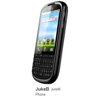 Virgin Mobile's JukeB packs Gingerbread and portrait style keyboard - bound for North America