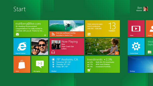 Windows 8 revealed as the ubiquitous touchscreen OS, Intel strikes back with Android compatibility