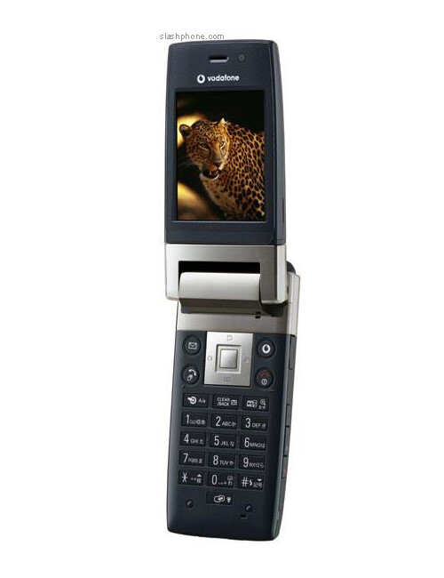 Sharp unveils the first cellphone with VGA display - 904SH