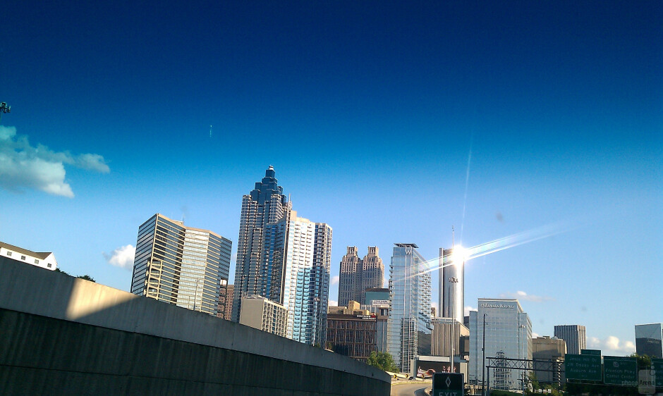 10. Robert Repke - HTC EVO 4GDowntown Atlanta - Cool images, taken with your cell phone #13