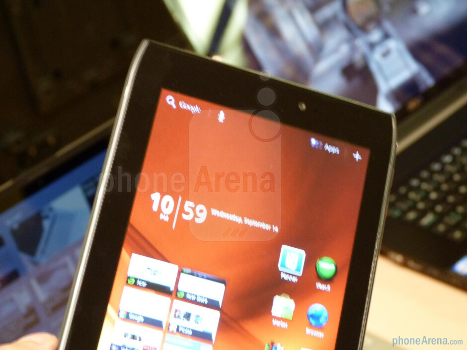 Acer ICONIA TAB A100 Hands-on