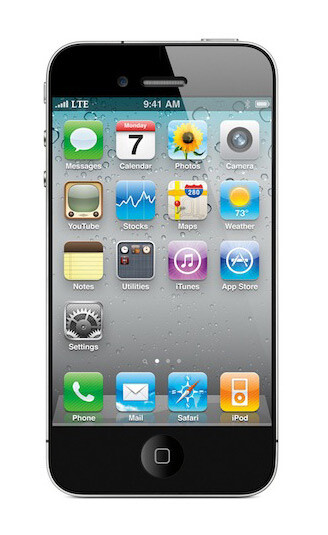 Mockup of the iPhone 5