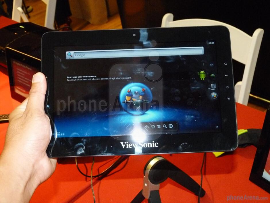 ViewSonic ViewPad 10Pro Hands-on
