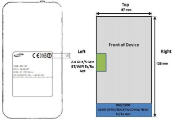 The Samsung Focus S has just visited the FCC