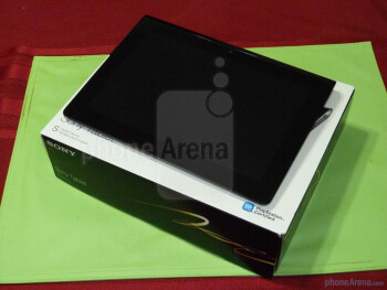 Sony Tablet S Unboxing and Hands-on