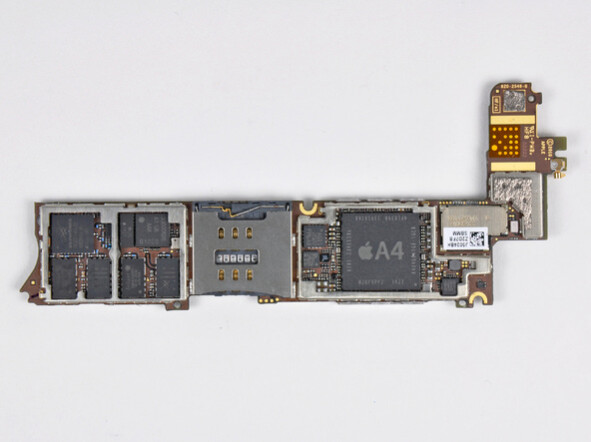 iPhone 4 A4 chip - Alleged next iPhone component shot reveals Apple A5 chip