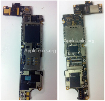 Alleged next iPhone A5 chipset leaked on Weibo (left)