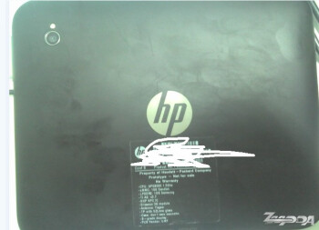 "Photos of the 7"" HP Opal TouchPad prototype are leaked showing off its existence"