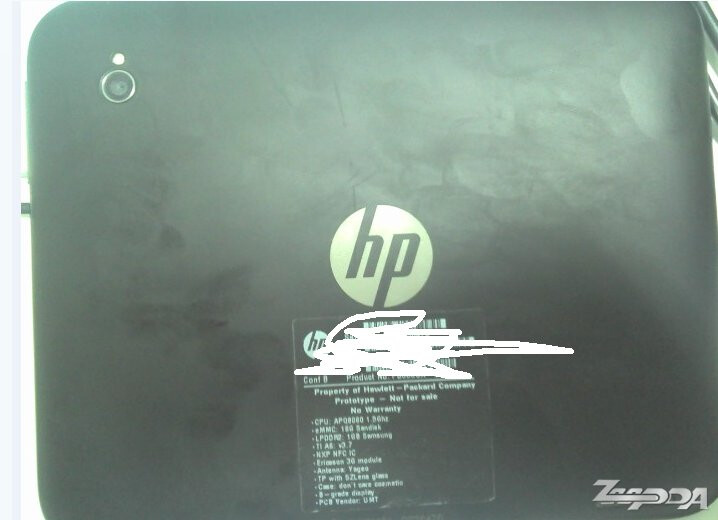 """Photos of the 7"""" HP Opal TouchPad prototype are leaked showing off its existence"""