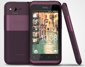 HTC Rhyme goes official: landing on Verizon Sept 29th, to woo ladies with a Charm indicator and plum colors