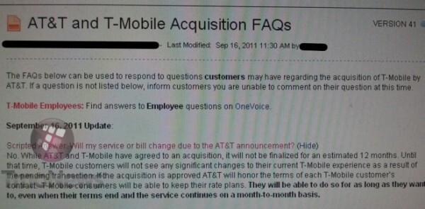 T-Mobile customers will be allowed to keep their current plan even if it expires after the merger - T-Mobile customers will be allowed to keep their rate plan on AT&T after it expires
