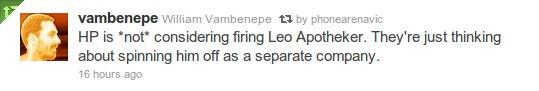 HP planning to get rid of Leo Apotheker, headhunting ex-eBay head Meg Whitman?