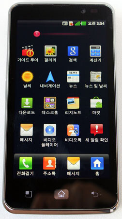 More images of the LG LU6200