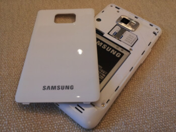 The white version of the Samsung Galaxy S II is expected to be launched by Bell in time for the holiday season