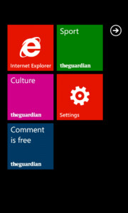 The Guardian releases WP7 app