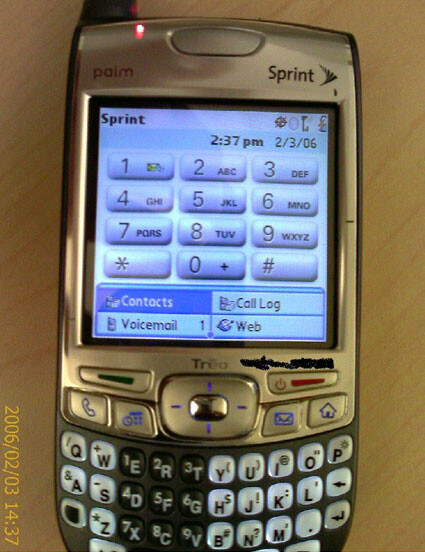Treo 700p to be released in May/June?