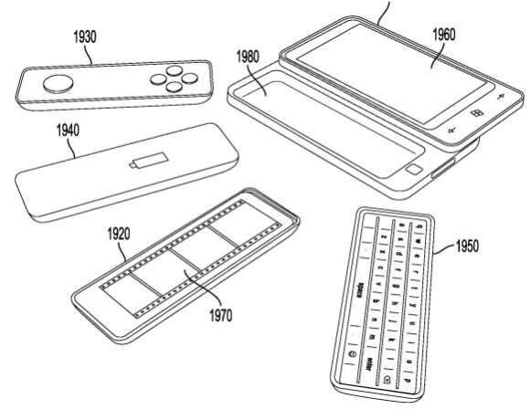 Patent suggests swappable Windows Phone accessories