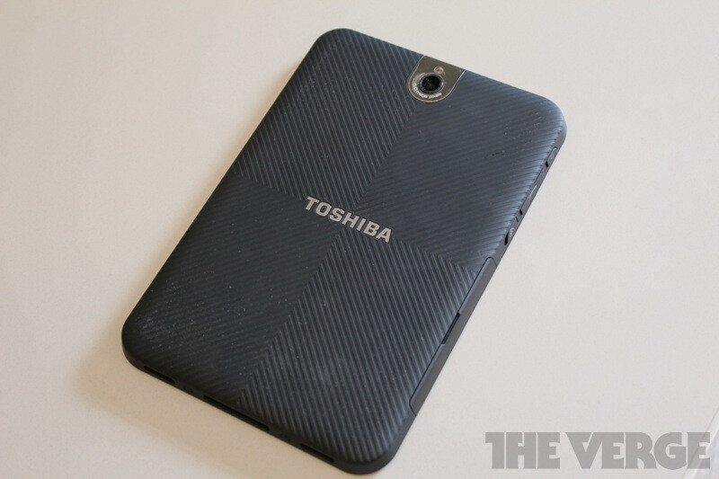 """7"""" Toshiba Thrive featured with 1280x800 pixels display, will clock in under $400 in December"""