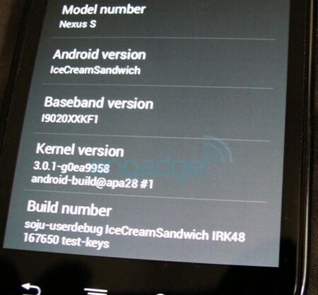 Possible video of Ice Cream Sandwich on a Nexus S