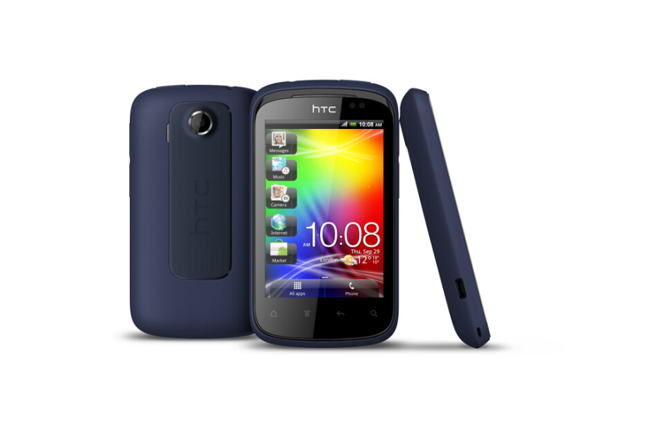 """HTC Explorer 3.2"""" Android smartphone makes a debut: the company's most affordable"""