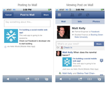 Facebook hits 350 million mobile users, iPad app and project Spartan coming next week